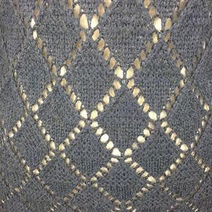 Old Navy Sweaters - Old Navy Cowl Neck Chunky Open Knit Fitted Sweater